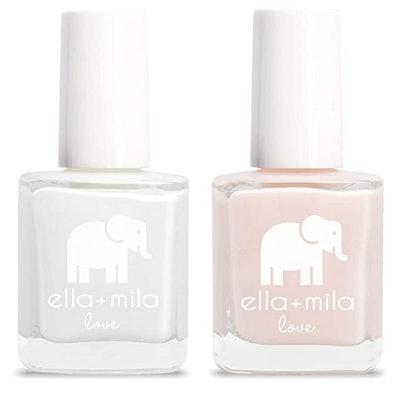 ella+mila Nail Polish, Love Collection French Mani Set