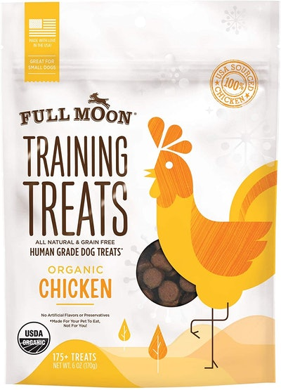 Full Moon Organic Human Grade Training Treats (6 Ounces)