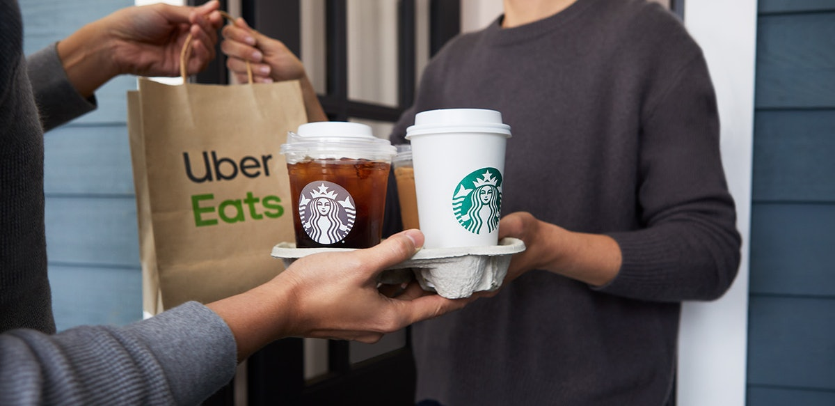 Here's what to know about collecting Stars on Starbucks delivery.