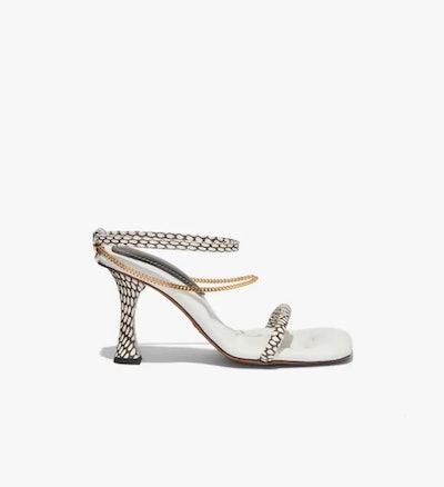 Cobra Chained High Heel Sandals