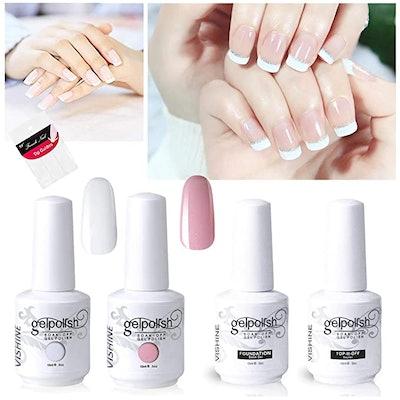 Vishine Gel Polish French Manicure Kit