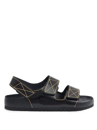x Proenza Schouler Milano Leather Sandals