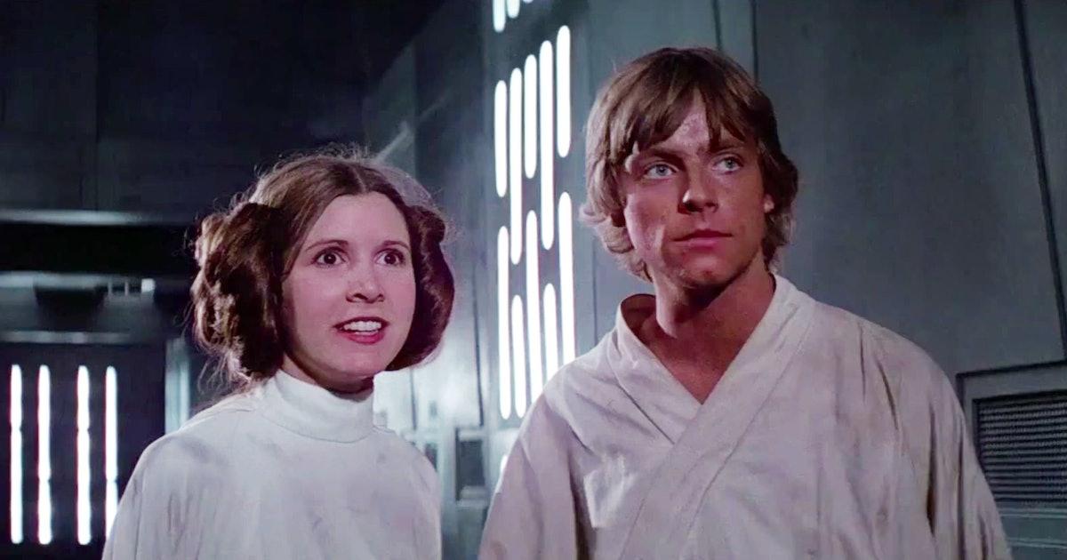 Luke And Leia Kiss