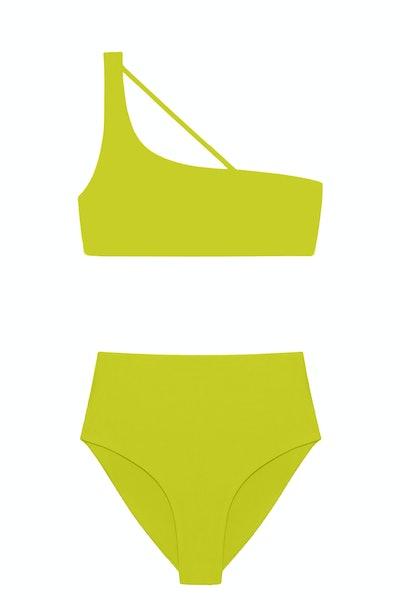 Jade Swim Apex One Shoulder Bikini