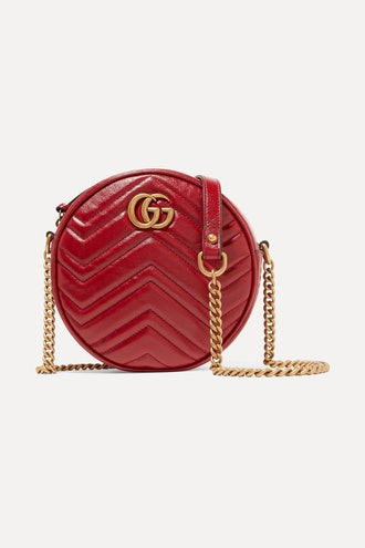 GG Marmont Circle quilted leather shoulder bag