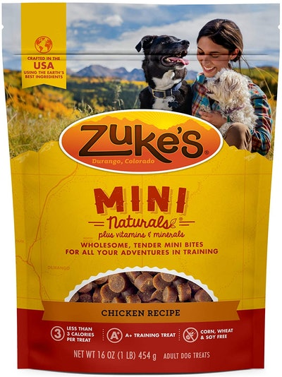 Zuke's Natural Training Dog Treats (16 Ounces)