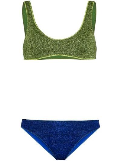 Oséreee Lumière Sporty Bicolor Bikini Set