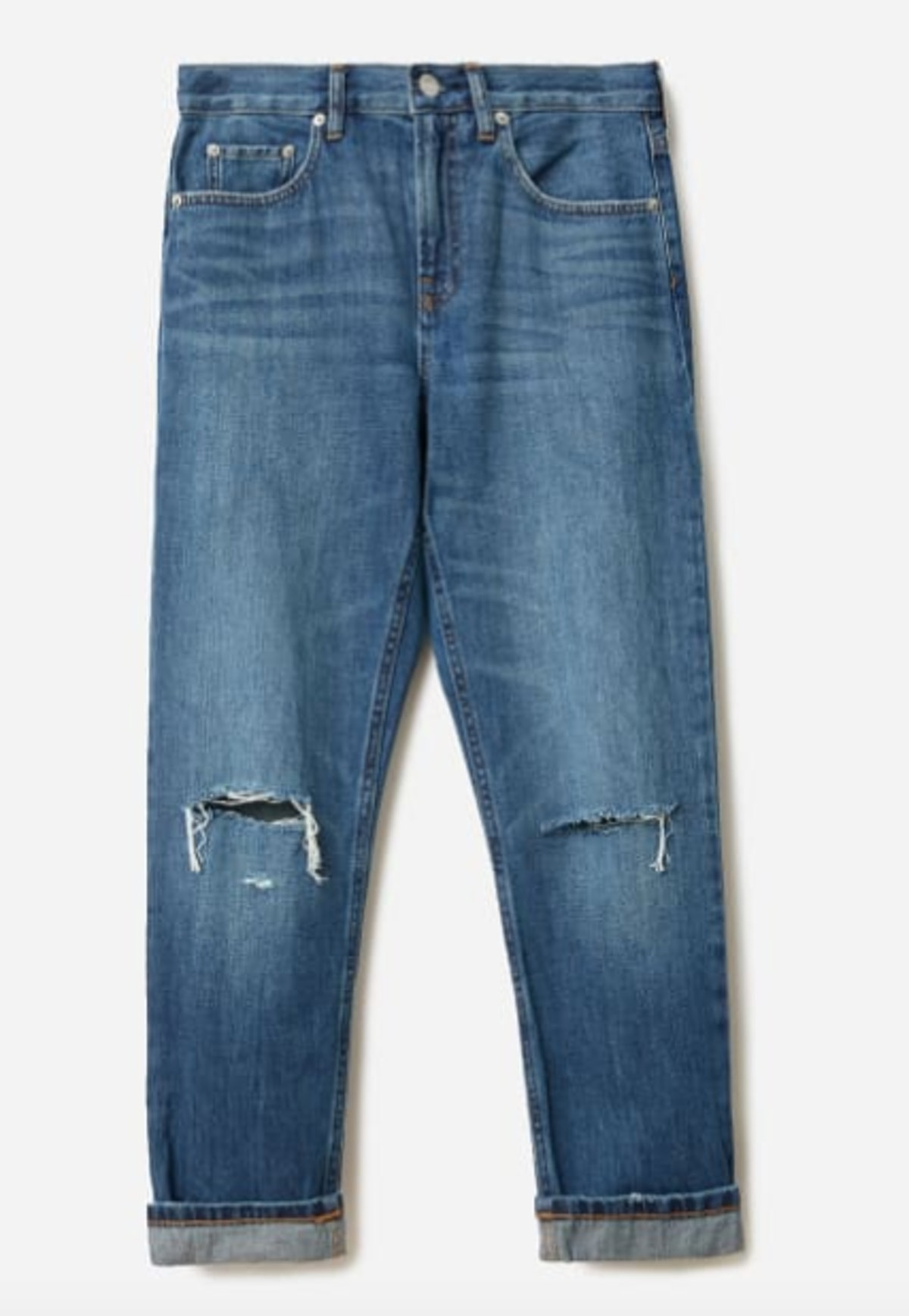 The Super-Soft Straight Leg Jean