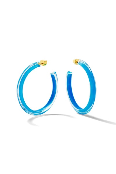 Neon Jelly Hoops