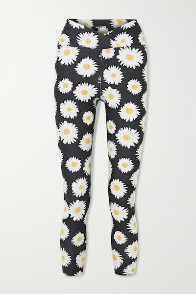 Daisy Veronica Floral-Print Stretch Leggings