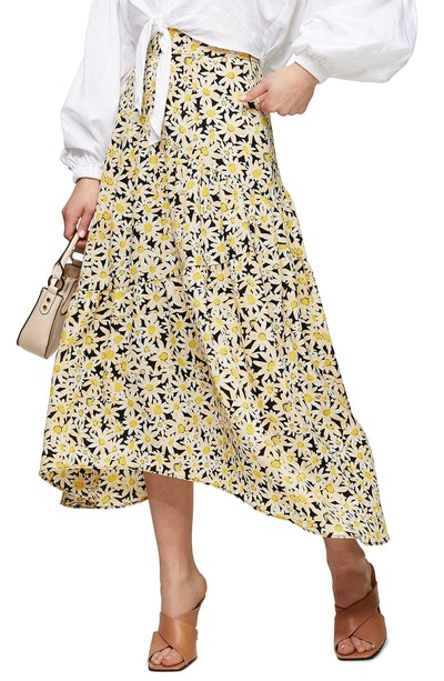Daisy Tiered Midi Skirt