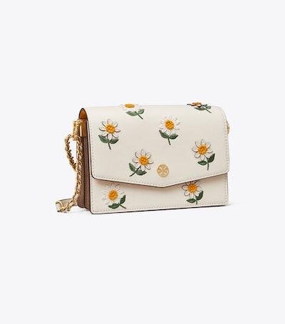 Robinson Embroidered Mini Shoulder Bag