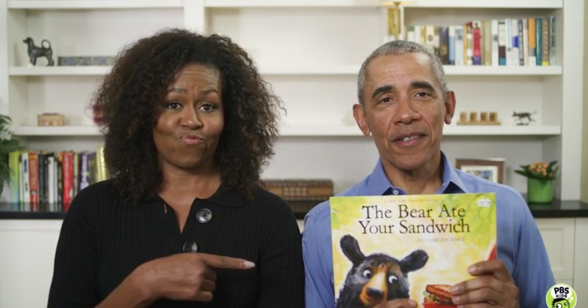 The Obamas Read A Cute Children's Book Together To Entertain Kids Cooped Up At Home