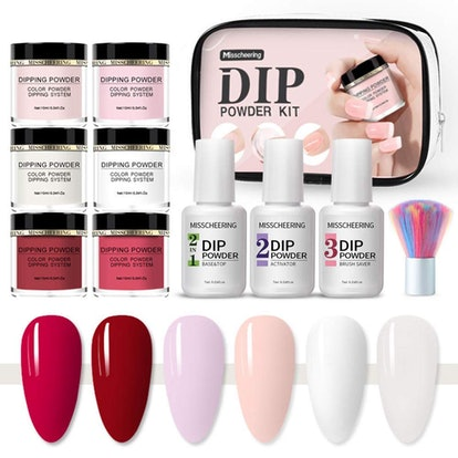 Anself Dipping Powder Nail Kit