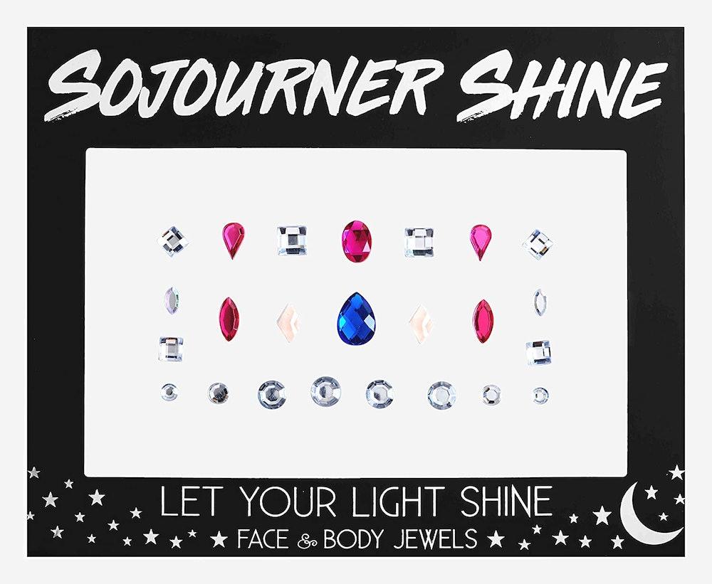 Sojourner Shine Face Jewels Glitter Gems Rhinestones