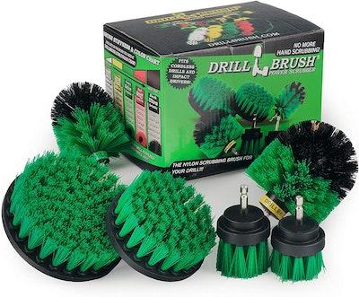Drillbrush Scrub Brush Attachment Kit (7-Pieces)