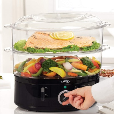 Bella Food Steamer with Stackable Baskets