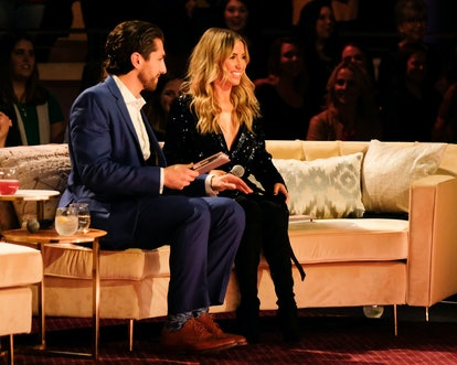 Jason Tartick and Kaitlyn Bristowe serve as judges in the Bachelor: Listen To Your Heart finale.