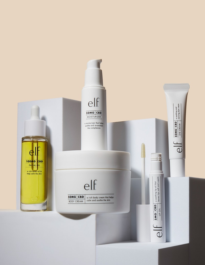 e.l.f. CBD skincare has just launched.