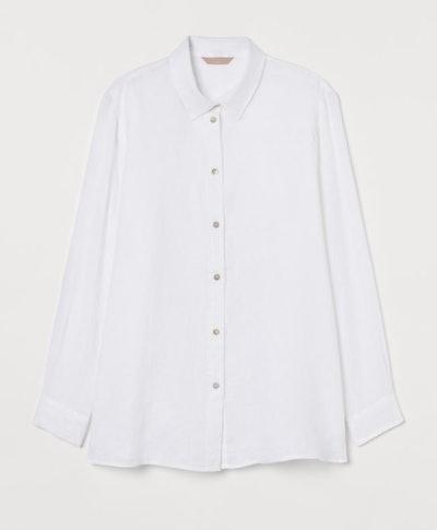 H&M+ Linen Shirt