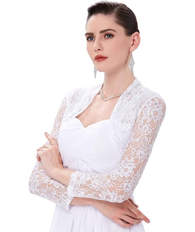 Belle Poque Long Sleeve Lace Cardigan