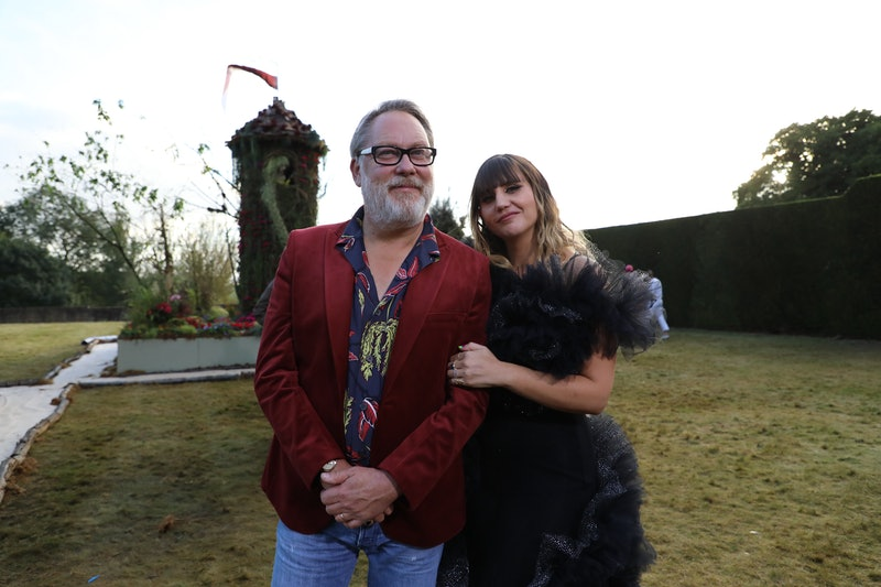 Natasia Demetriou and Vic Reeves on The Big Flower Fight