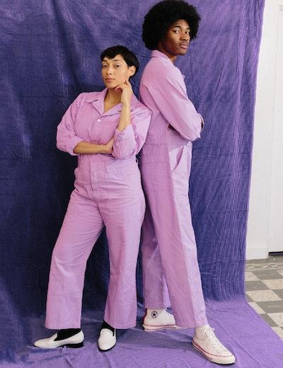 Everyday Jumpsuit (Lilac Purple)