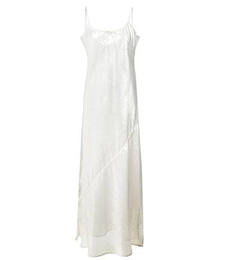 Side Slit Sheer Slit Dress