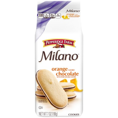 Milano Orange Cookies