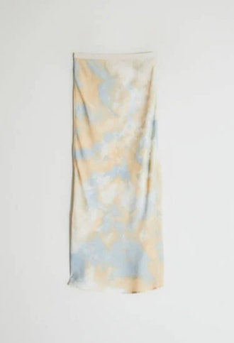 Marina Slip Skirt in Tie Dye