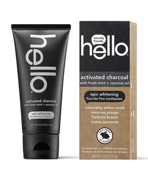 Hello Oral Care Charcoal Toothpaste