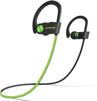 Letscom Waterproof Bluetooth Headphones