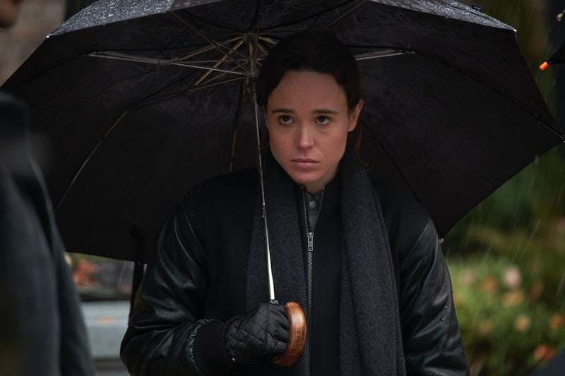 Ellen Page in Netflix's 'Umbrella Academy'