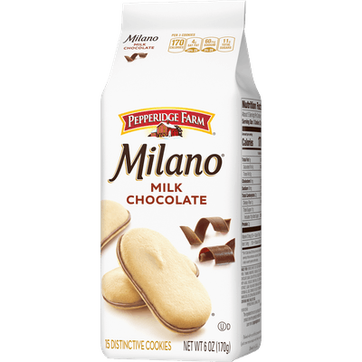 Milano Milk Chocolate Cookies