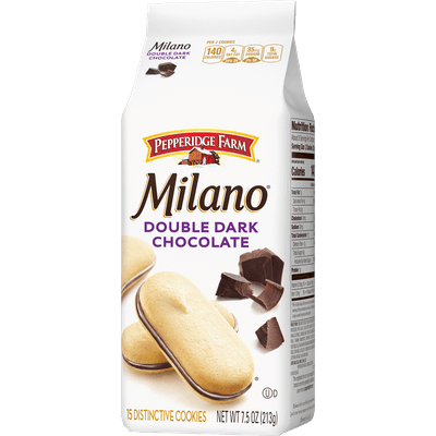 Milano Double Dark Chocolate Cookies