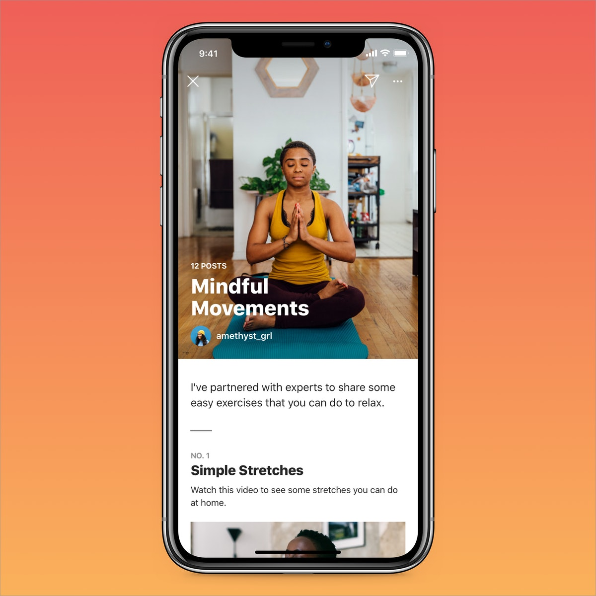 Instagram Guides can include content from the creator as well as other accounts.