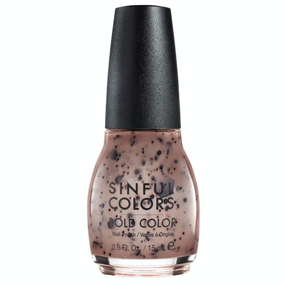 SinfulColors Sweet and Salty Nail Polish - Cookies and Creme