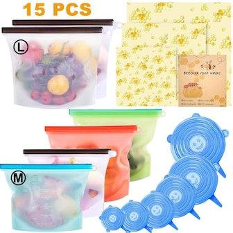 Alpacasso Food Storage Set (15-Piece Set)