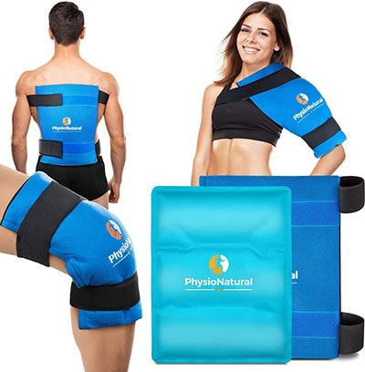 PhysioNatural Gel Ice Pack and Wrap