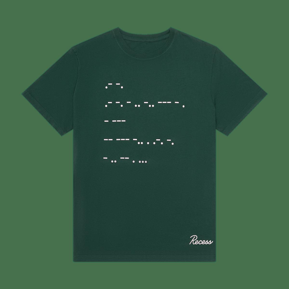Secret code tee