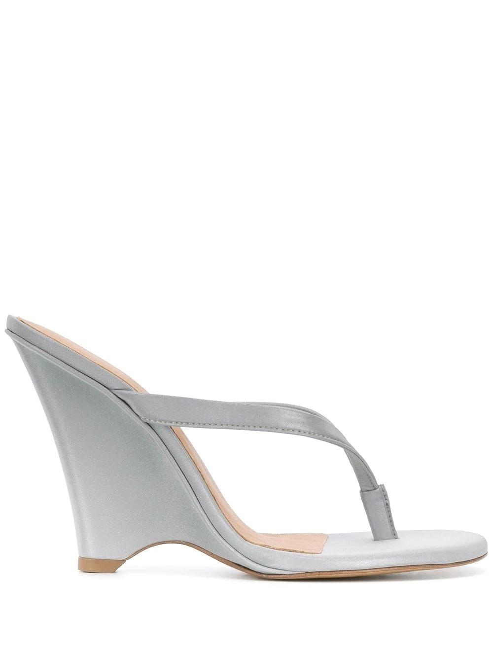 Yeezy 110 Wedge Thong Sandals