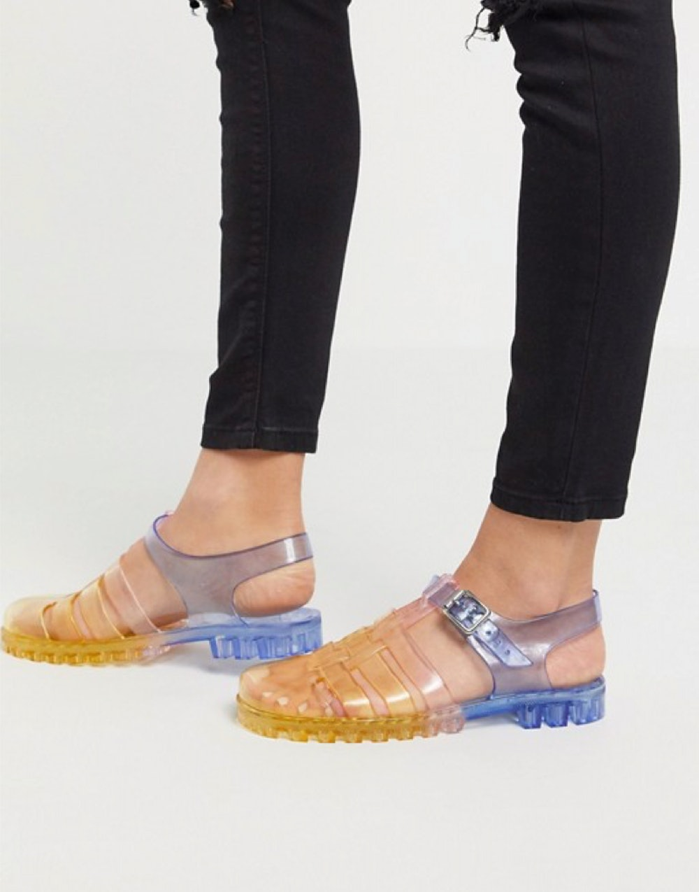 Feature Fisherman Jelly Flat Sandals