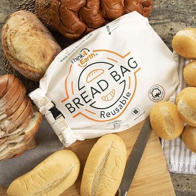 Think4Earth Organic Cotton Reusable Bread Bag