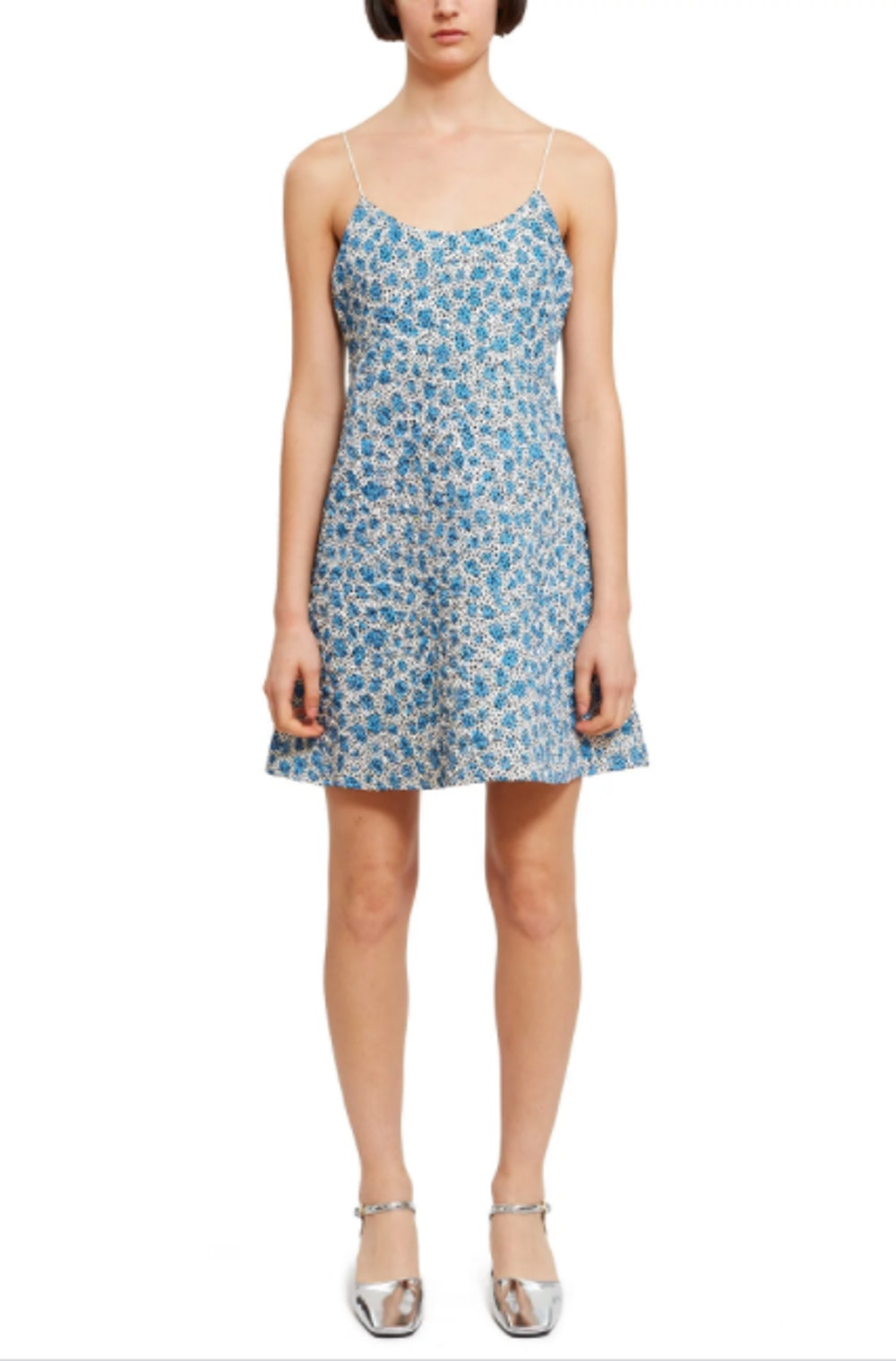PRINTED QUILTED DRESS