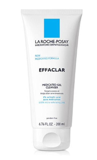 La Roche-Posay Effaclar Medicated Gel Cleanser for Acne Prone Skin