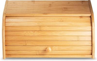 Klee Utensils Large Bamboo Roll Top Breadbox