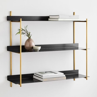 Floating Lines Wall Shelf