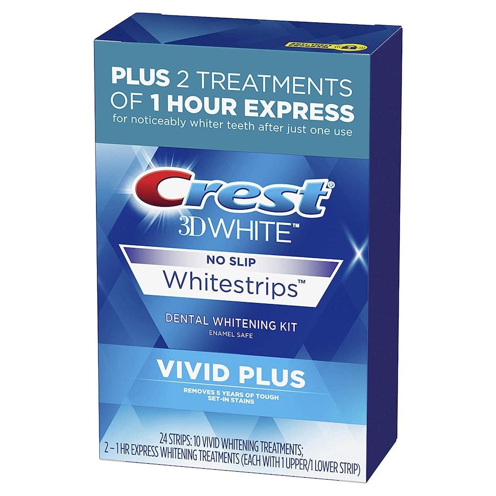 Crest 3DWhite Vivid Plus Teeth Whitening Strips