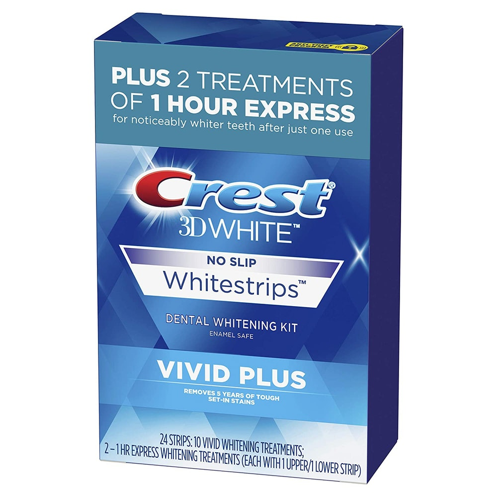 Crest 3DWhite Vivid Plus Teeth Whitening Strips