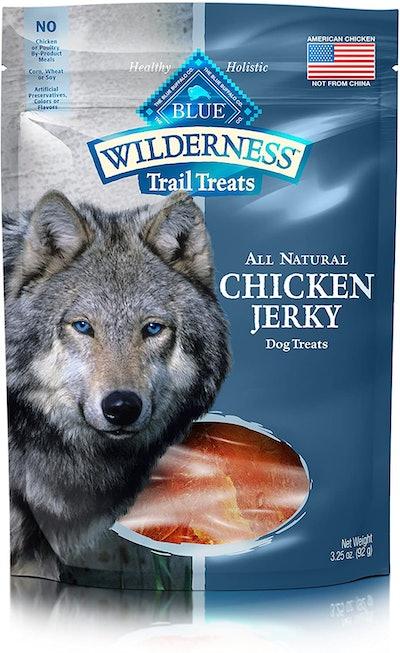Blue Wilderness Trail Treats All Natural Chicken Jerky Dog Treats (3.25 Ounces)